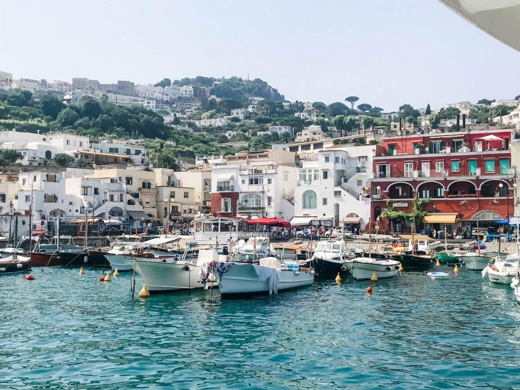capri islands port