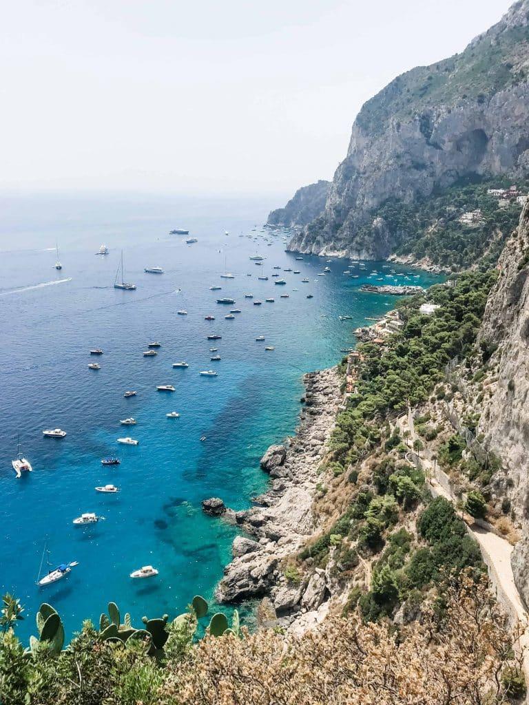 capri islands itinerary